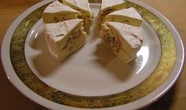Studený sýrový dezert