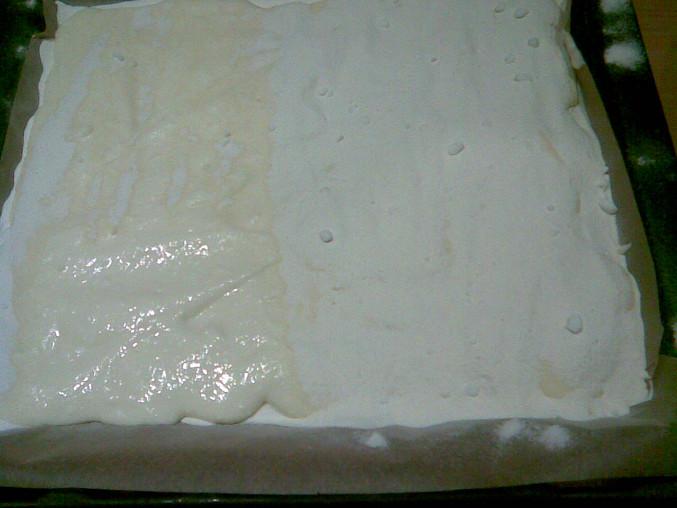 Švédský koláč 2, přidaný tvaroh