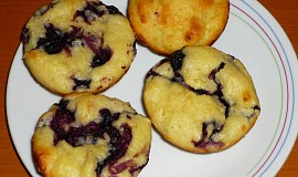 Tvarohové muffiny s ovocem