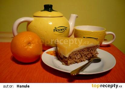 Vločkový koláč v pomerančovém kabátku