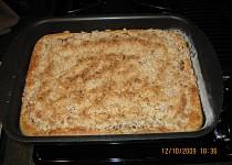 Jablkový koláč s mandlemi a ricottou
