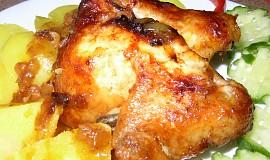Kuře po texasku