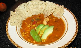 Kuřecí tortillová polévka
