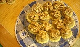Linecké koláčky ořechové
