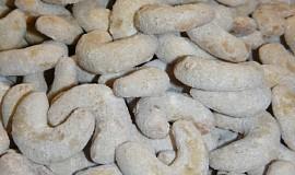 Mini vanilkové rohlíčky