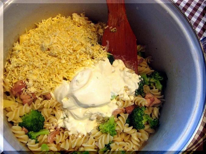 Těstoviny s brokolicí, SUROVINY