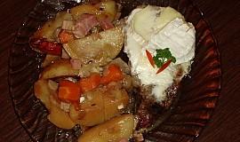 Vepřová krkovice s bramborem v PH