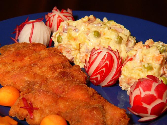 bramborový salát na přání