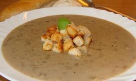 Čočková polévka s česnekem - jednoduchá
