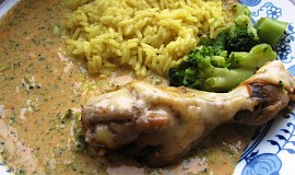 Kuřecí s brokolicovou omáčkou
