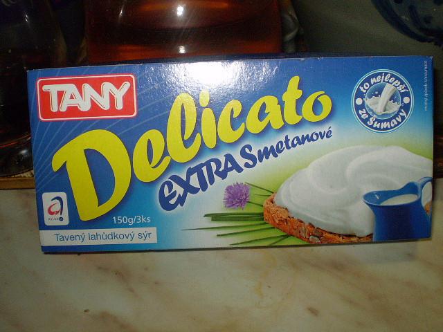 Delicato extra-smetanový sýr