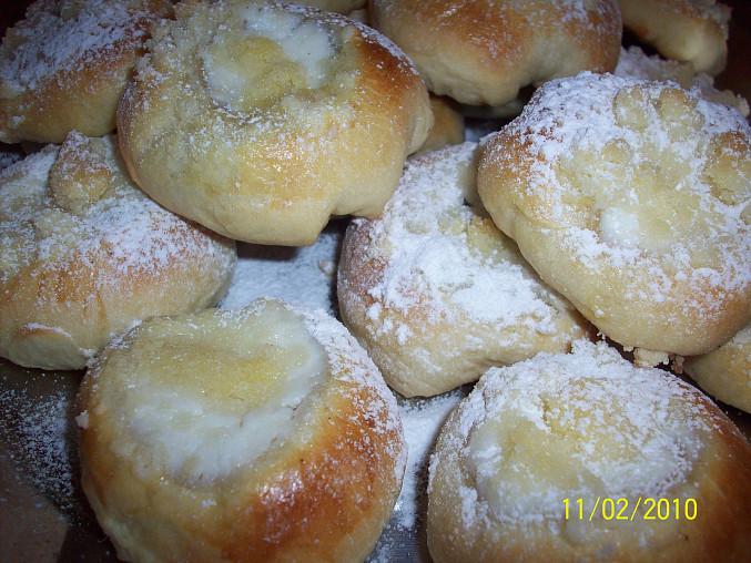 Lechotické koláčky na Hanácké právo, s tvarohem
