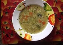 Nastavená čínská polévka