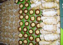 Svatební cukroví-linecké lekníny