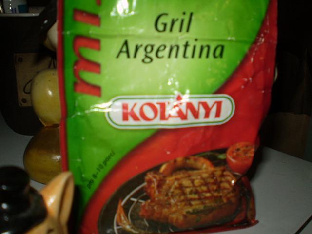 Argentinská koňská roláda, vynikající koření...
