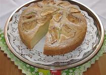 Mramorový koláč s hruškami
