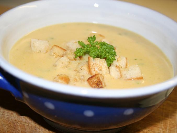 Polévka z pangase