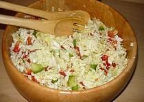 Salát z čínského zelí k večeři