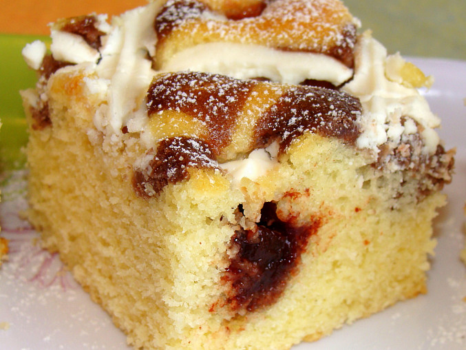 Jednoduché a rychlé těsto na koláč/řezy, Dobrou chuť ;-)
