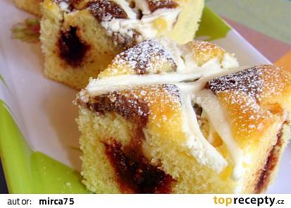 Jednoduché a rychlé těsto na koláč/řezy
