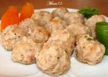Knedlíčky z mletého masa - zavářka do polévky