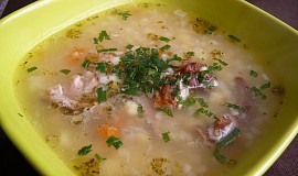 Kroupová polévka od Babici