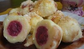 Ovocné tvarohové knedlíky