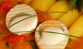 Paprikový perkelt s vařenými vejci