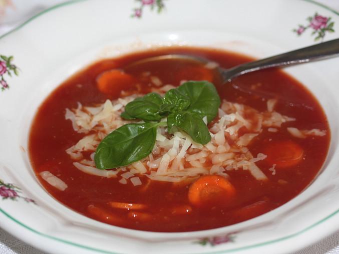Rychlá rajská polévka, Rychlá rajská polévka