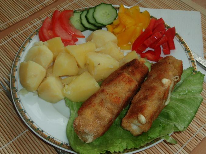 Smažené rybí ražničí, Smažené rybí ražničí