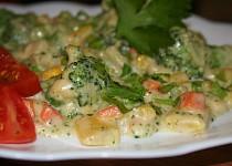 Zelenina s bešamelovou omáčkou