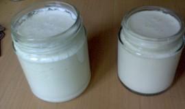 Domácí sójový jogurt
