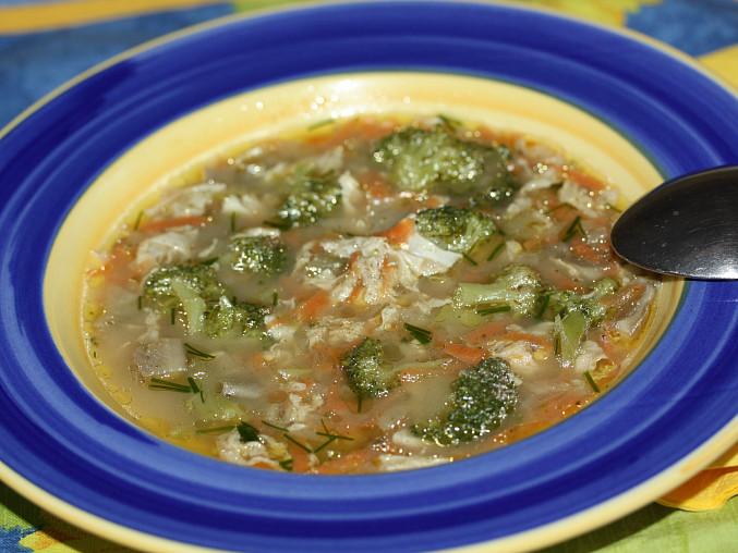 Drožďová polévka s hlívou ústřičnou