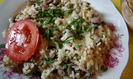 Hříbkové rizoto