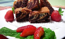 Mramorové brownies