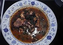 Pikantní kuřecí polévka(Peppersoup)