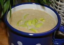 Pórková polévka krémová