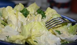 Salát s hořčicovou zálivkou