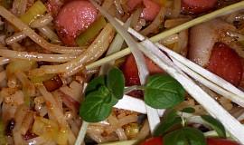 Špagety na grilovací způsob