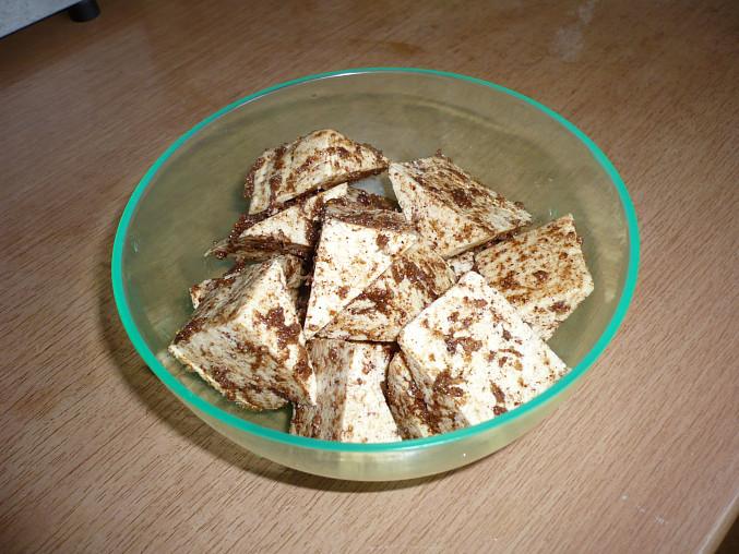Obalené tofu v koření