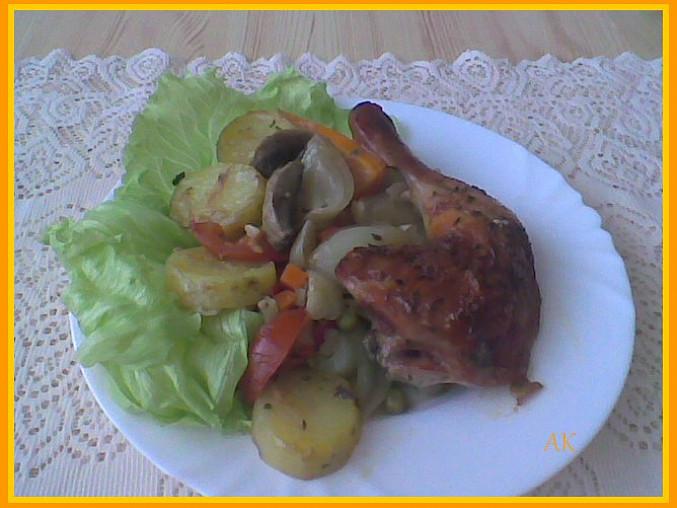 Tuniské kuře z jižních Čech