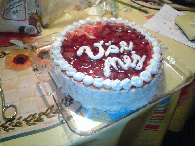 Takhle jsem to zkusila já :-) a všichni mi říkali, že lepší dort nejedli. Díky za inspiraci :-)