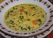 Fazolkovo - mrkvová polévka s karí
