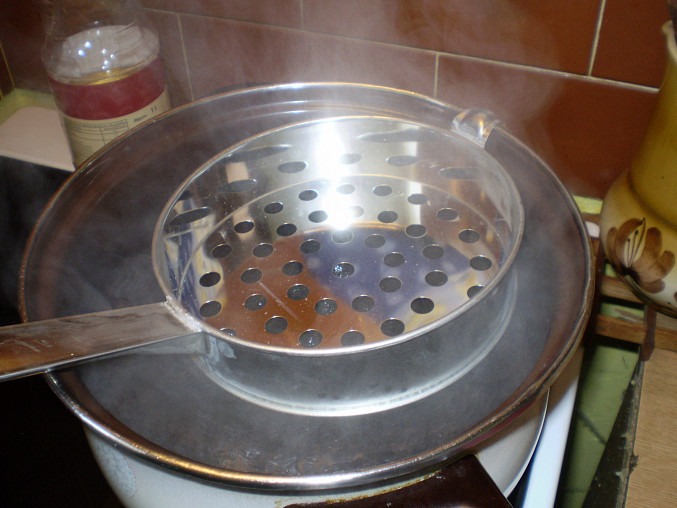 ..voda vaří..