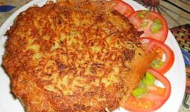 Hermelín plněný zelím v bramborovém těstíčku