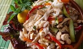 Kuřecí směs se zeleninou z woku