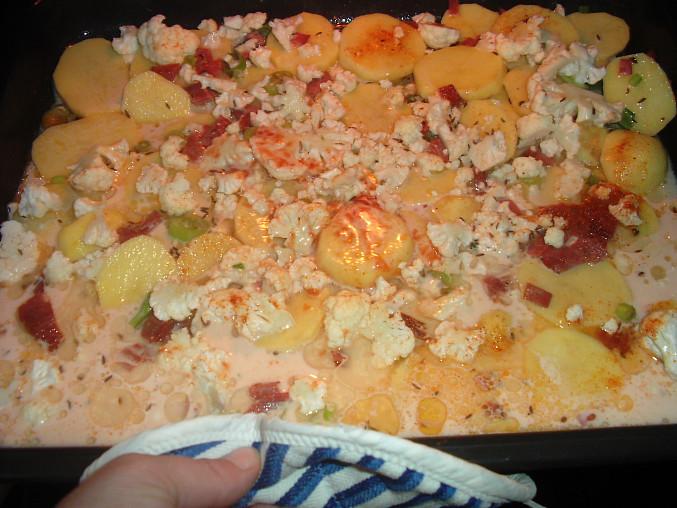 Hlavní jídlo před pečením:-)