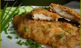 Marinované kuřecí smažené jako řízek