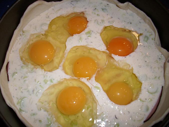 vyklepneme vajíčka