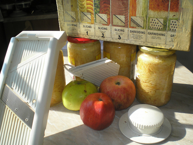 Cukrářské jablečné řezy, pŘÍPRAVA jABLEK